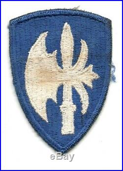 Green Back 65th Infantry Division Us Army Patch Ww2 Wwii Ssi Original