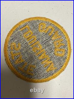H0808 Original WW2 US Army Louisiana State Guard Shoulder Patch IR45A