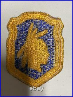 H0884 Original WW2 US Army 98th Infantry Division Shoulder Patch IR45A