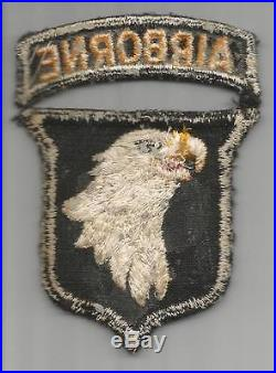 HTF Type 8 US Army 101st Airborne Division Patch Inv# G635