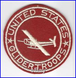 HTF WW 2 US Army Artillery Glider Troops 3-3/4 PX Jacket Patch Inv# M002