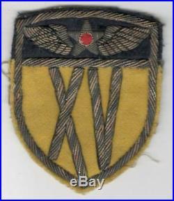Italian Made WW 2 US Army 15th Air Force Bullion Patch Inv# Z767