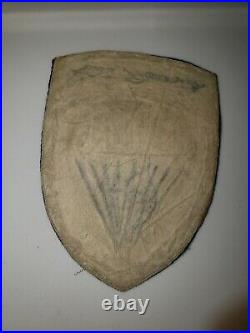 K0479 WW 2 US Army OSS Parachute Tab Shoulder Patch WA1
