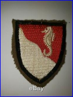K0487 WW 2 WWII US Army 36th Engineer Battalion WA1