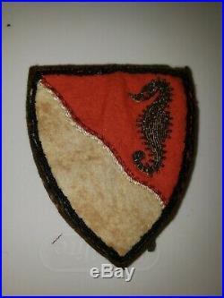 K0489 WW 2 WWII US Army 36th Engineer Battalion Patch WA1