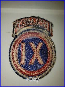K0554 WW2 US Army 622 Military Police Company Patch WB-3
