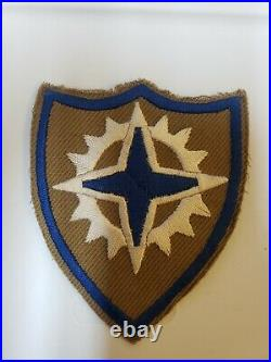 K0563 WW2 US Army XIX Corps German Made Patch WB-3