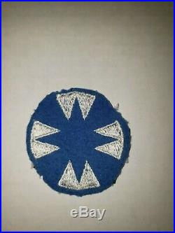 K11 WW 2 US Army Shoulder Patch 48th Infantry Division Ghost Machine emb. WA3