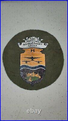 K1404 WW2 US Army Air Force AAF 390 Bomb Group Unit Patch L3D