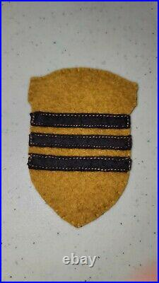 K1473 WW2 US Army Shoulder Patch 23 Cavalry Division L3D