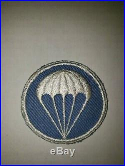 K14 WW 2 US Army Airborne Patch Paratroopers Shoulder/Cap WA3