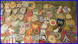 Lot 135 Us Army Air Force Airborne Wwii Uniform Patches Bullion Cut Edge Usmc
