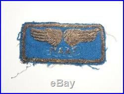 Mediterranean Allied Air Force Theater Made Bullion Patch WWII US Army P1008