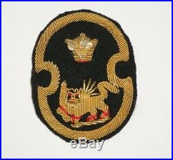 Military Mission to Iran Bullion patch WWII US Army Theater Made P9139