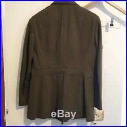 Mint Original WW2 US Army A Jacket. 39Short. Patched as T3, 165th Sig. Ph. Co