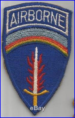 NO-GLOW German Made US Army 577th Airborne Quartermaster Patch Inv# F741