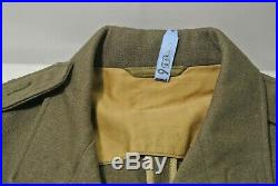 Named WW2 US Army Enlisted Dress Jacket Pants with patches 2nd Armored (#6170)