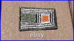 ORIGINAL US ARMY WW2 PATCH SSI 1ST Signal Corps Insignia Cut Edge
