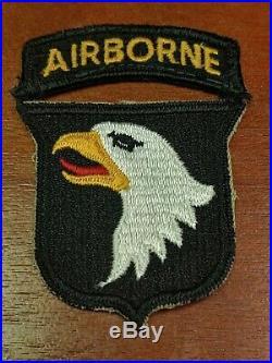 ORIGINAL WW2 US ARMY 101ST AIRBORNE DIVISION PATCH WWII U. S. A. Army Nice
