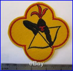 ORIGINAL WW2 Vintage USAAF U. S. ARMY AIR FORCE 429th BOMB SQUADRON JACKET PATCH