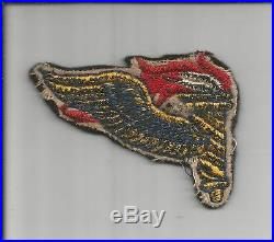 Off Uniform British Made WW 2 US Army Airborne Pathfinder Wool Patch Inv# S578