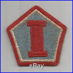 Off Uniform WW 2 US Army 1st Army Group Patch Inv#H258