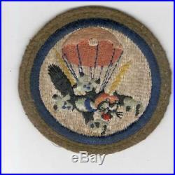 Off Uniform WW 2 US Army 503rd Parachute Infantry Battalion Wool Patch Inv# G981