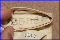 Original Early WW2 U. S. Army Medic Cotton Armband withGeneva Stamps, Unused withPin