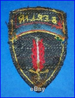 Original Post Ww2 German Made Bullion U. S. Army Europe, Berlin Hq Patch