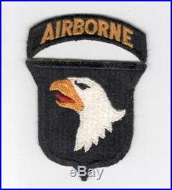 Original Type 9 US Army 101st Airborne Division Patch & Correct Tab Inv# G034
