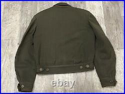 Original WW2 Era US Army Ike Jacket Dress Coat Ryukyu Japan Patch Occupation