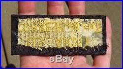 Original WW2 Japanese Made Silk US Army Military War Correspondent Patch