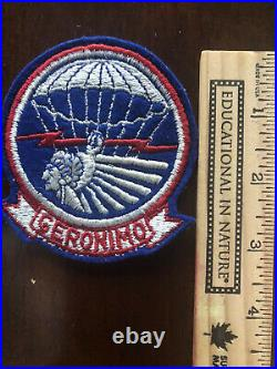 Original WW2 US Army 501st Airborne Infantry Regiment Geronimo Patch