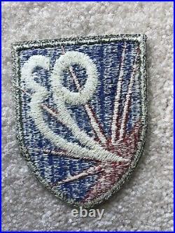 Original WW2 US Army 93rd Chemical Mortar Battalion Patch