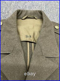Original WW2 U. S. Army 94th Infantry Division Patched Ike Jacket Size 39R