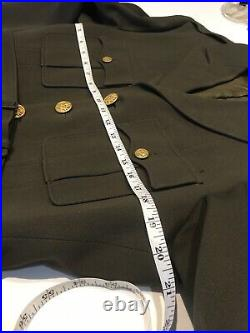 Original WWII Officer 8th US Army Air Force Name Jacket British Made Patch 1943