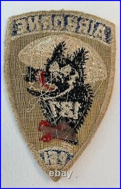 Original WWII US Army 187th Airborne Glider Regiment Pocket Patch