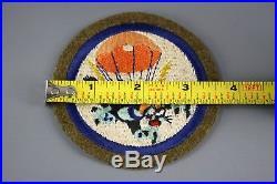 Original WWII U. S. Army 503rd Parachute Infantry Regiment Insignia, Cat Patch