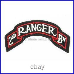 Patch US 2nd RANGER US ARMY WW2 (original)