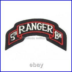 Patch US 5th RANGER US ARMY WW2 (original)