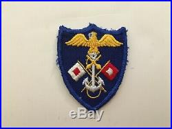 Pk172 Original WW2 US Army 5930th Joint Army/Navy Signals Company Patch WA11