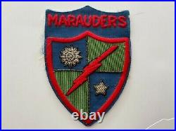 Pk324 WW2 US Army Merrill's Marauders Patch Old Reproduction Bullion/Thread WA7