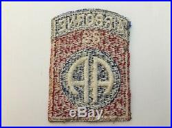 Pk42 Original WW2 US Army 82nd Airborne Division US Issue Full Machine WC10