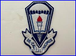 Pk438 Original WW2 US Army Airborne School Fort Benning GA WA10