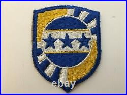 Pk45 Original WW2 US Army Armed Forces Information School Patch WC10