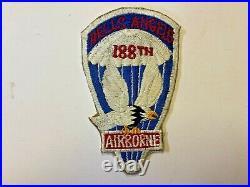 Pk470 Original WW2 US Army 188th Airborne Infantry Regiment Hells Angels WA11