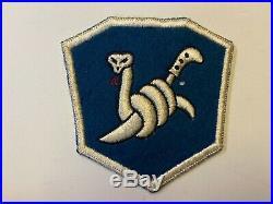 Pk477 Original WW2 US Army 158th Infantry Regiment Bushmasters US Made WA11