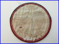 Pk49 Original WW2 US Army Airborne Training Center In Italy Patch Velvet WC10