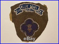 Pk506 Original WW2 US Army 88th Blue Devil Infantry Division 313th Tab WB11
