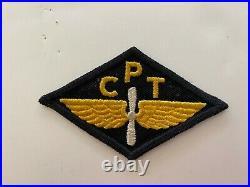Pk518 Original WW2 US Army Air Force Civilian Pilot Training Program CPT WB11